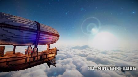 Скачать Above the Clouds [64x] для Minecraft 1.12