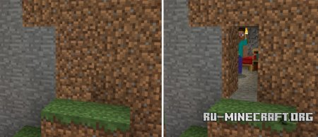 Скачать Camouflage Doors для Minecraft PE 1.2