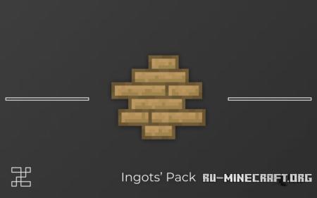 Скачать Ingots [16x] для Minecraft 1.12