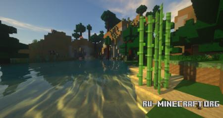 Скачать Smooth Land [64x] для Minecraft 1.12