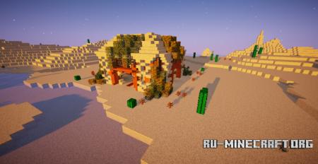 Скачать The Temple of Desert для Minecraft