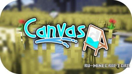 Скачать Canvas [128x] для Minecraft 1.12