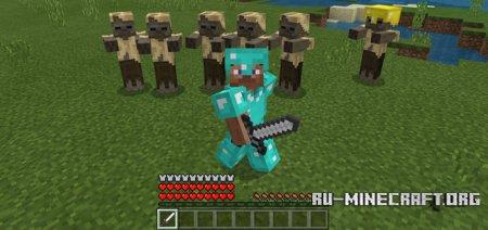 Скачать Realistic Armors для Minecraft PE 1.2