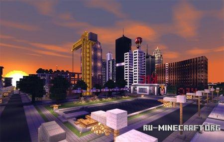 Скачать Simple Shader для Minecraft PE 1.2