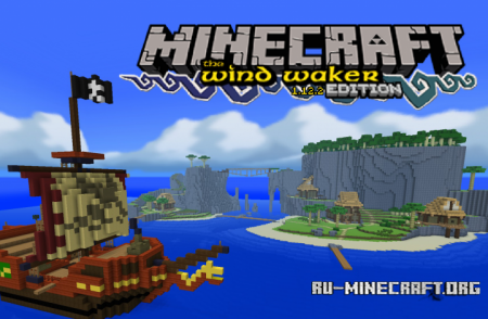 Скачать Wind Waker [16x] для Minecraft 1.12