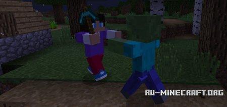 Скачать Humanoid Villagers для Minecraft PE 1.2