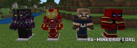 Скачать Avengers Infinity War для Minecraft PE 1.2