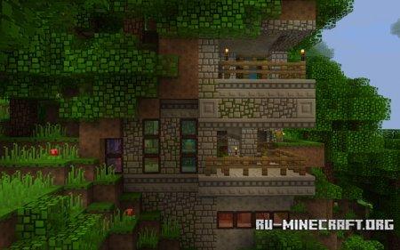 Скачать BlockPixel [16x16] для Minecraft PE 1.2