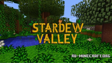 Скачать Stardew Craft [16x] для Minecraft 1.12