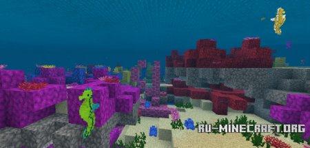 Скачать Hippocampus (Seahorse) для Minecraft PE 1.2