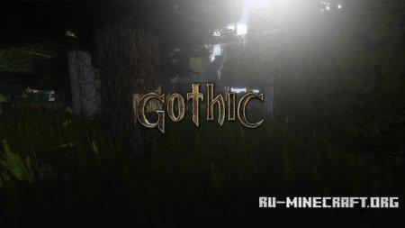 Скачать Gothic [64x] для Minecraft 1.12