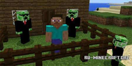 Скачать Creeper Friend для Minecraft PE 1.2