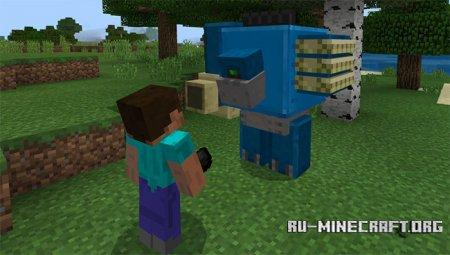Скачать Mechanic для Minecraft PE 1.2