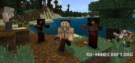 Скачать Crafting Dead для Minecraft PE 1.2