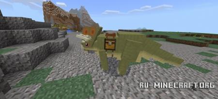 Скачать Dinosaurs для Minecraft PE 1.4