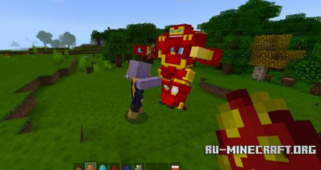 Скачать Avengers Infinity War для Minecraft PE 1.4