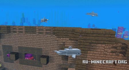 Дельфин в Minecraft 1.13