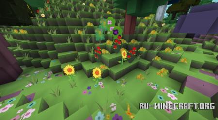 Скачать Flutterstorm's PonyCraft [128x] для Minecraft 1.12