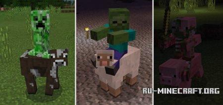 Скачать More Jockeys для Minecraft PE 1.4