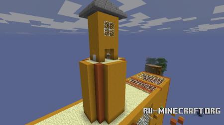 Скачать 8 Diamonds of Parkour для Minecraft