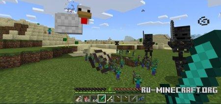 Скачать Pesky Chicken Boss для Minecraft PE 1.4