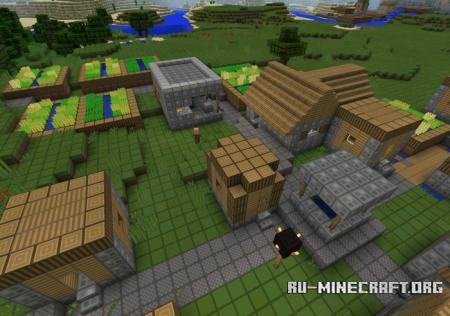 Скачать oCd Texture [16x16] для Minecraft PE 1.4