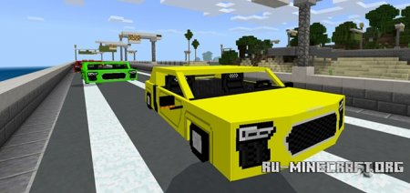 Скачать AUDI R8 для Minecraft PE 1.4