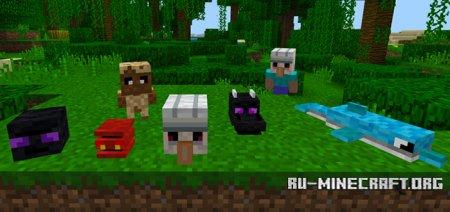 Скачать SG Power Plushies для Minecraft PE 1.4