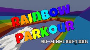 Скачать The Rainbow Parkour для Minecraft