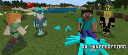 Скачать Elemental Friends для Minecraft PE 1.4