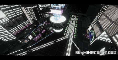Скачать Ultratopia - The Neon Forest для Minecraft