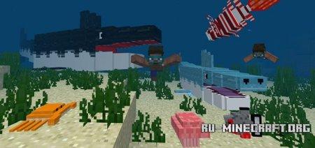 Скачать OceanCraft для Minecraft PE 1.4