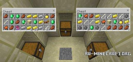 Скачать More Treasure для Minecraft PE 1.4
