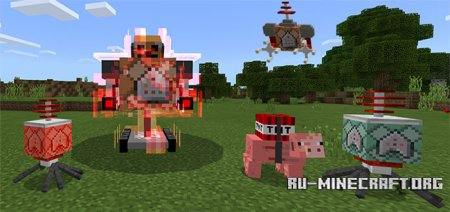 Скачать Commander Boss Machine для Minecraft PE 1.5
