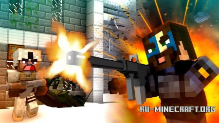 Скачать Modern Warfare для Minecraft 1.10.2