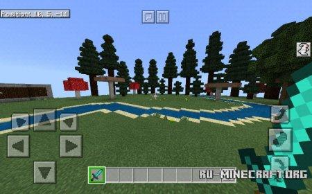 Скачать HudUI для Minecraft PE 1.5