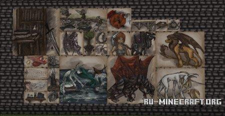 Скачать Wolfhound [64x] для Minecraft 1.13