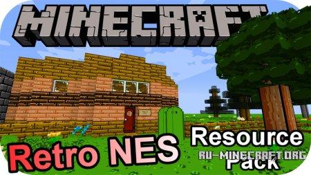 Скачать Retro NES [16x] для Minecraft 1.13