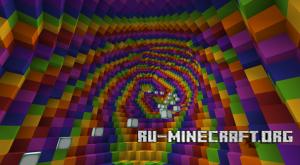 Скачать Rainbow Death Tube для Minecraft