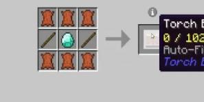 Скачать Torch Bandolier для Minecraft 1.12.2