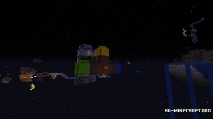 Скачать super minecraft galaxy для minecraft.
