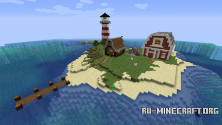 Скачать Small Farmer Island для Minecraft