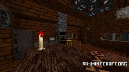 Скачать BloodCraft [64x] для Minecraft 1.13