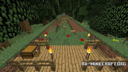 Скачать 25 Diamonds Of Parkour для Minecraft