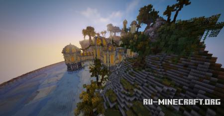 Скачать Fantasy Palace Island для Minecraft