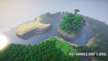 Скачать The Island Version 2 для Minecraft
