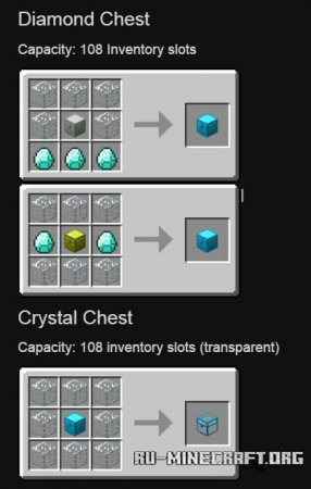 Скачать Iron Chests для Minecraft 1.12.2
