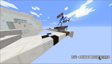 Скачать Death Run (Helix b6) для Minecraft