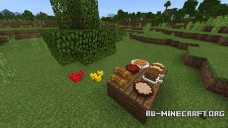 Скачать Placeable Food для Minecraft PE 1.5