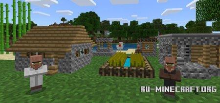 Скачать Tiny Villagers для Minecraft PE 1.5